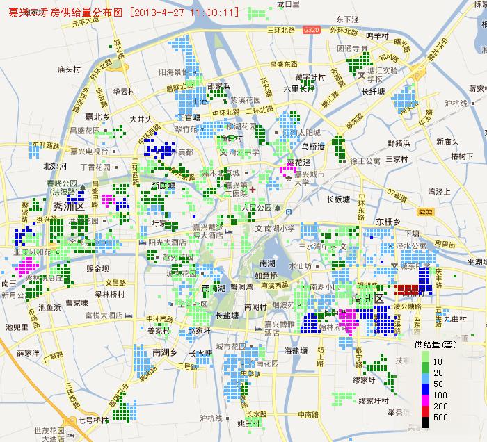 嘉兴市行政区划地图